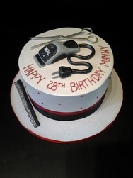 Razor & Tools Birthday Cake