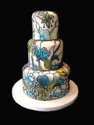 Tiffany-Inspired Floral Modern Wedding