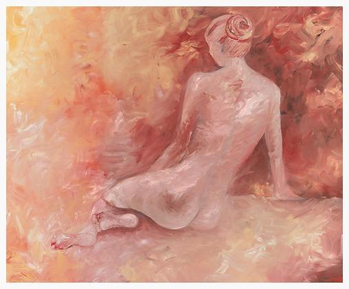 Rose Paper Print