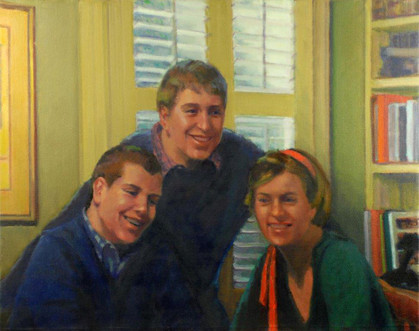 The Callaghan Children (at home)