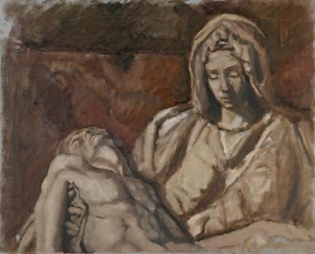 Study of Pieta v.2