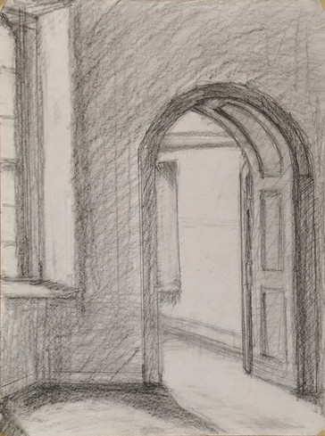 Arched Doorway (sketch)