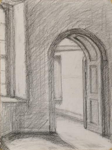 Arched Doorway (sketch)