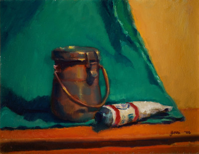 Paint Tube and Jar