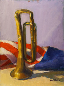 Bugle and Flag v.2