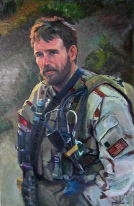 LT Michael P. Murphy USN (posthumous portrait in Afghanistan)