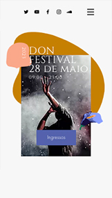 Ver todos os templates website templates – Festival Musical