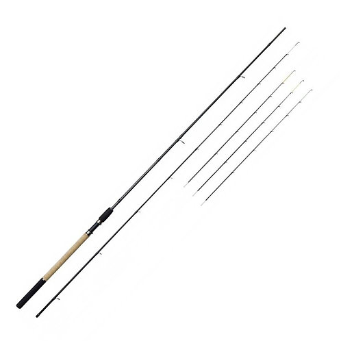 feeder rod with 4 tips