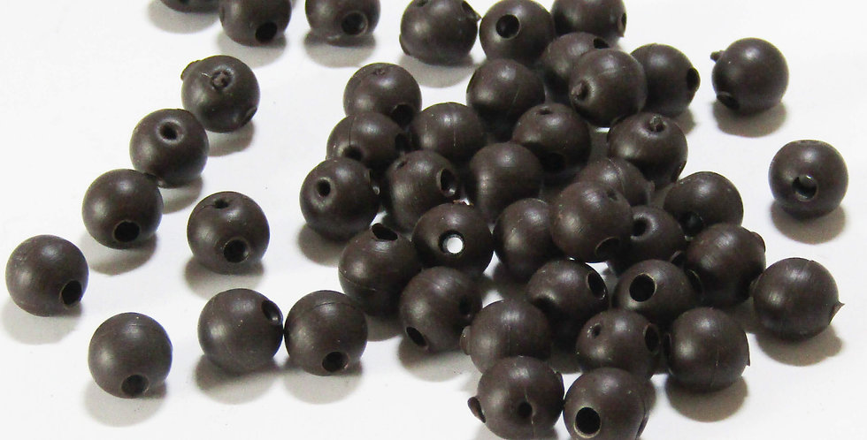 Rubber Buffer Beads 20 per pack