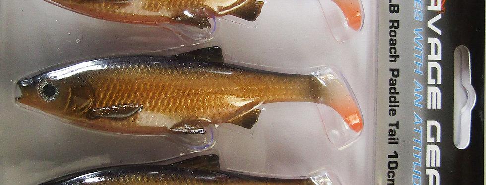 savage gear LB Roach paddletail lures