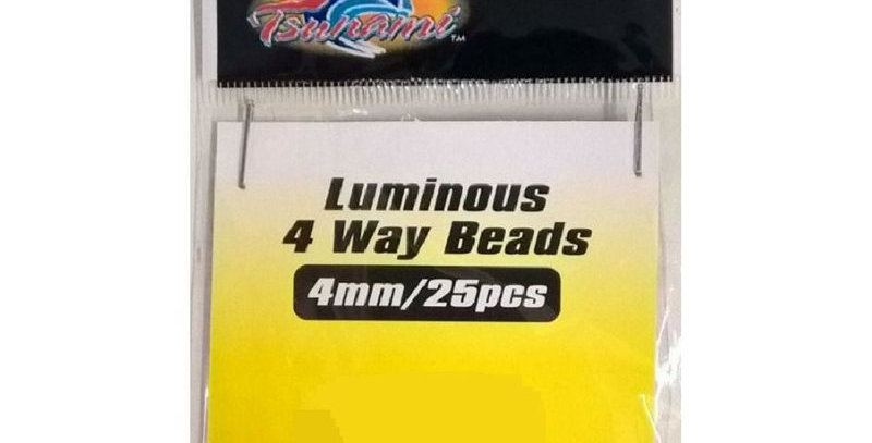 Tsunami 4-Way Luminous Fishing Rig Beads