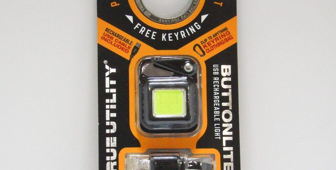 NEBO True Utility Buttonlite - Hands-Free Rechargeable Light