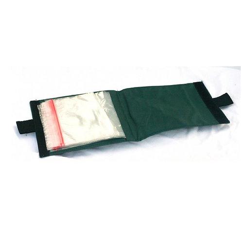 green fishing rig wallet