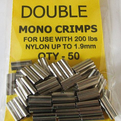 CJT Double Heavy Mono Crimps