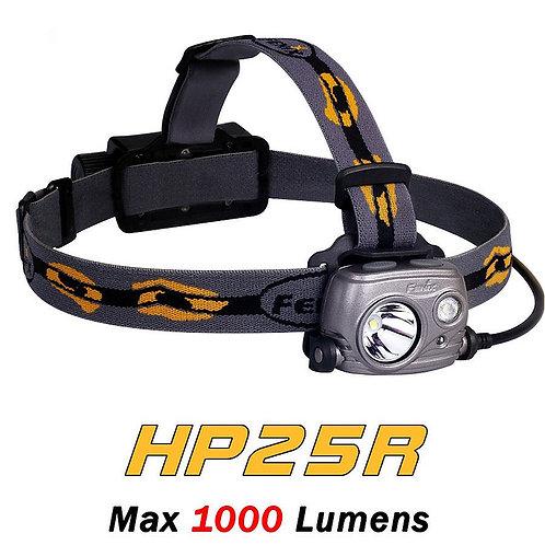 fenix hp25r rechargeable fishing headlamp