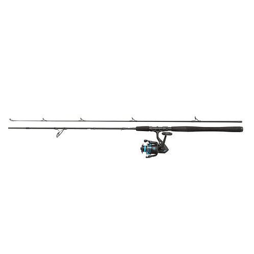 penn wrath 2 piece spin fishing rod and reel combo