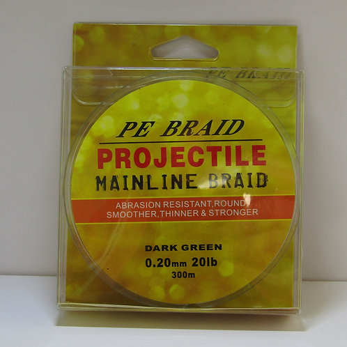 boxed spool of 20lb fishing braid line