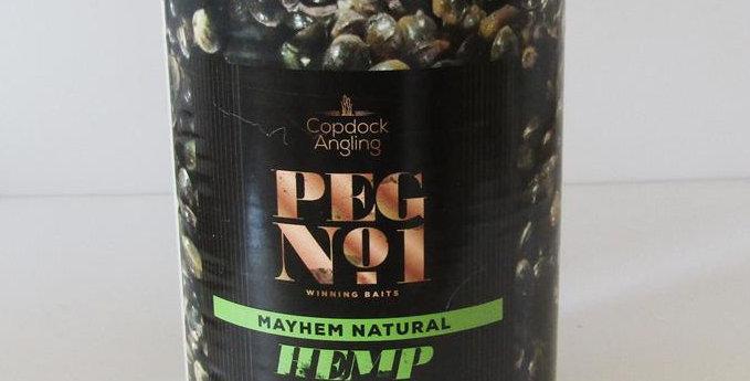 Peg No1 Mayhem natural hemp 400g can