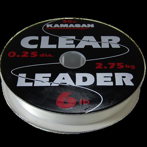 Kamasan Clear Fishing Leader 50m Spools