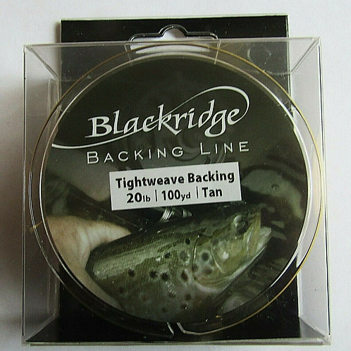 pack of fly fishing backing line