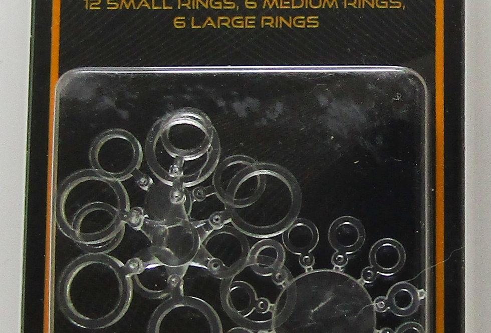 Carp Fishing Pellet Bands Assorted sizes
