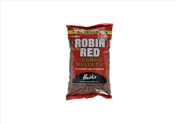 Dynamite Robin Red Pre-drilled carp fishing pellets