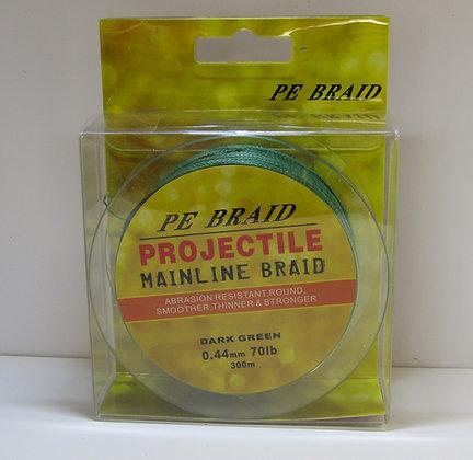 PE Projectile Mainline Braid