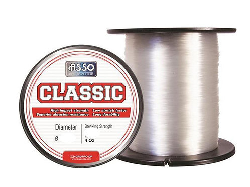 asso classic clear monofilament fishing line