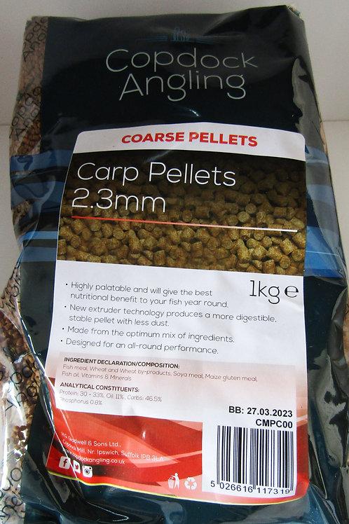 carp fishing pellets 2.3mm