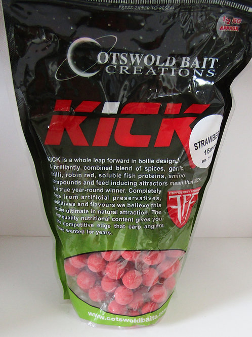cotswold bait creations kick strawberry boilies
