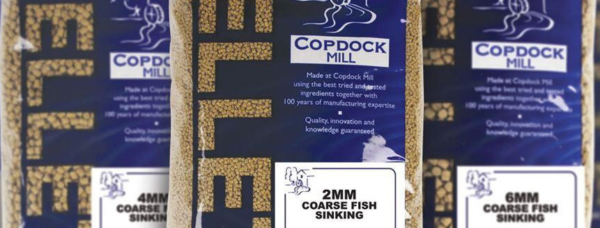 Premium Coppens Coarse Fishing Sinking Pellets