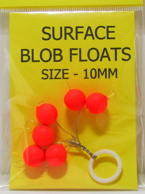 pack of high visibility floating fishing beads