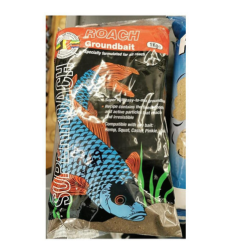Van Den Eynde Super Roach Groundbait Black 1kg