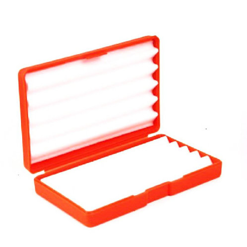 RED RIPPLE FOAM FLY BOX