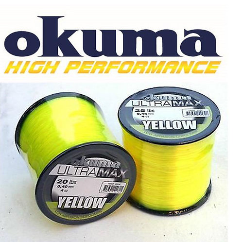 hi-viz yellow fishing line bulk spools