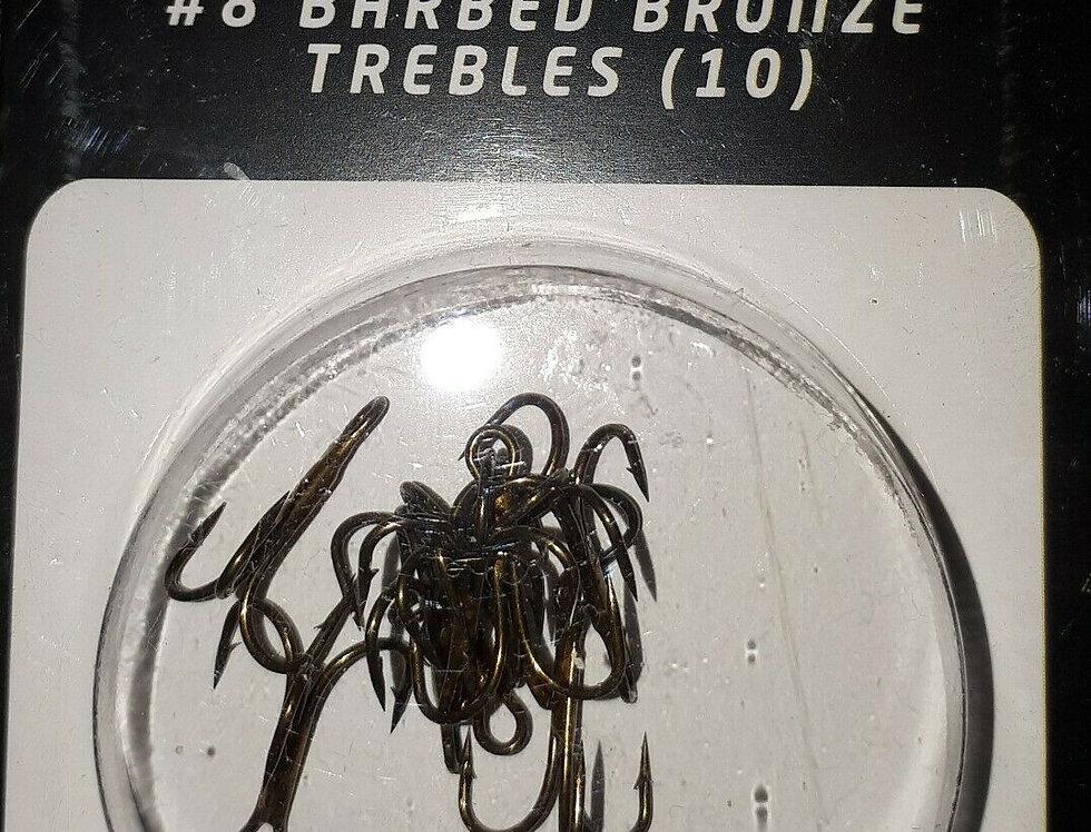 Rovex Barbed Treble Hooks