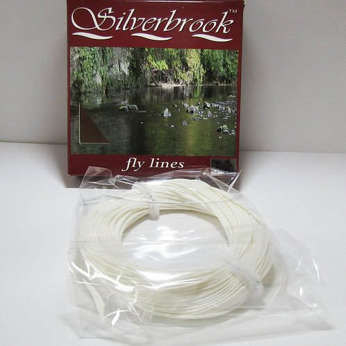 silverbrook fly fishing line white