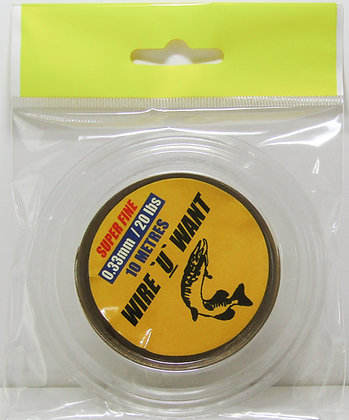 wire u want wire pike trace kit 20lb test