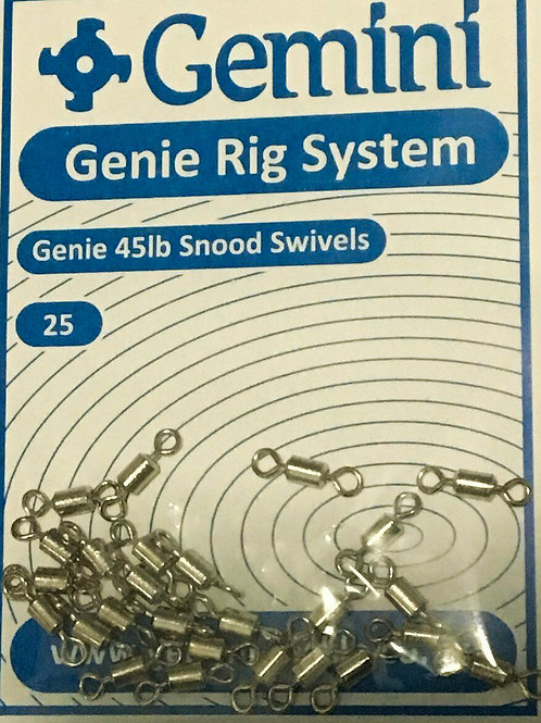 gemini 45lb snood swivels
