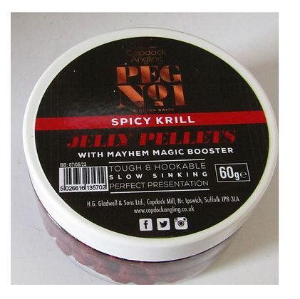 Peg No. 1 Jelly Pellets carp and coarse fishing pellets