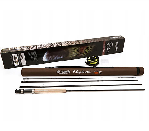 Ron Thompson Flylite Fly Fishing Combo 9ft6 - #7/8wt