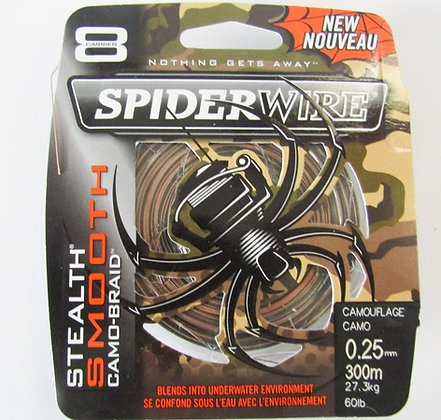Spiderwire Camo Fishing Braid 60lb-300m