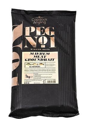 Peg No.1 Mayhem Meat Groundbait 1kg