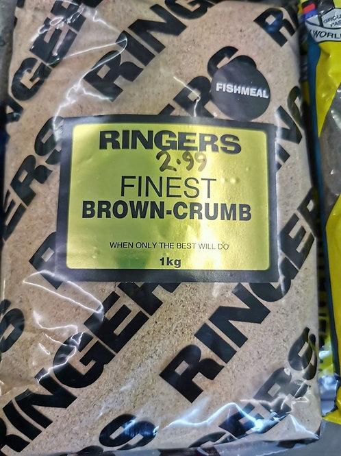 brown crumb groundbait mix