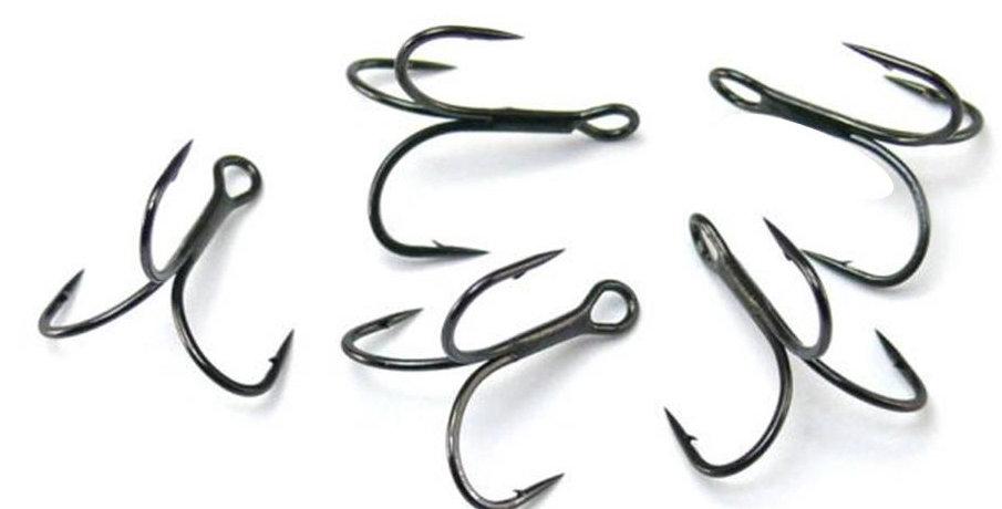 Big Splash Barbed Treble Hooks
