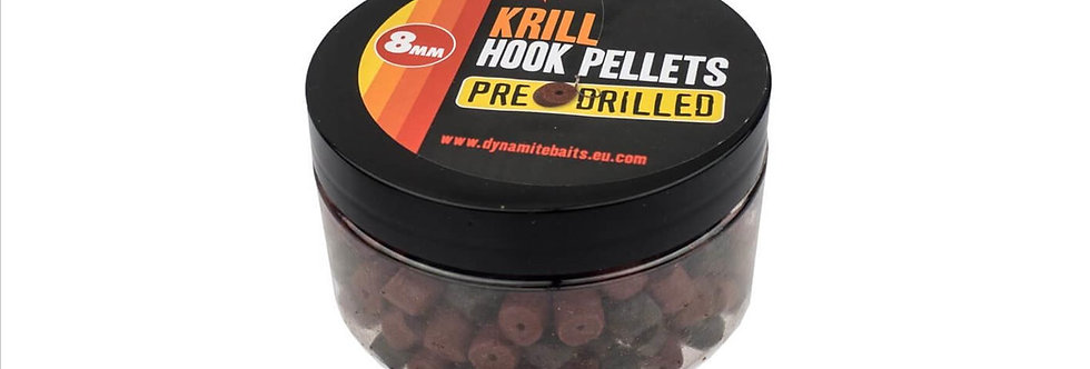 dynamite Krill pre-drilled-coarse fishing hook-pellets