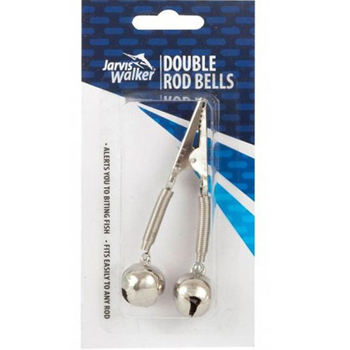 double fishing rod bells bite indicators