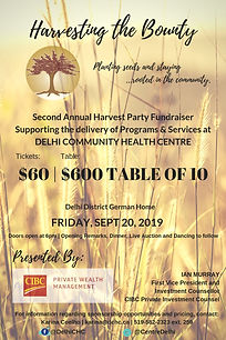 Harvesting The Bounty Fundraiser