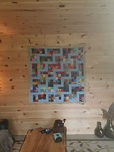 quilt in sitting room
