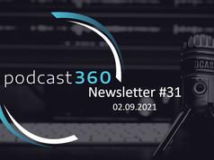 Newsletter #31 - 2. September 2021